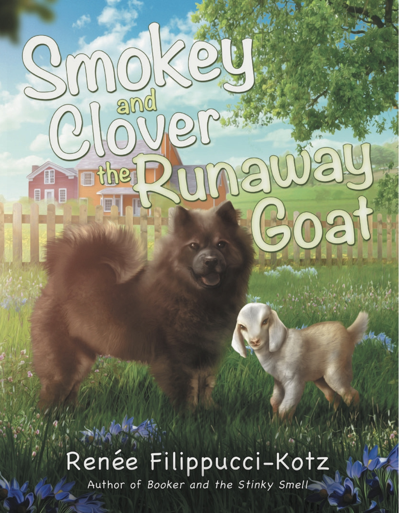 Smokey and Clover the Runaway Goat featured on another blog